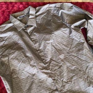 Men's 4 xl long sleeve dress shirt #130